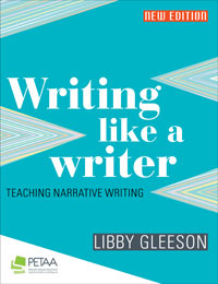 Writing like a writer: Teaching narrative fiction, front cover
