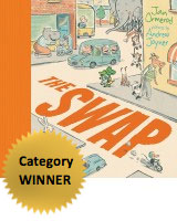 The Swap book cover depicting a street scene, linked to unit of work
