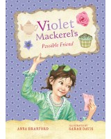 Book cover featuring title and protagonist (Violet Mackerel)