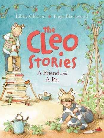 The Cleo Stories book cover with children playing