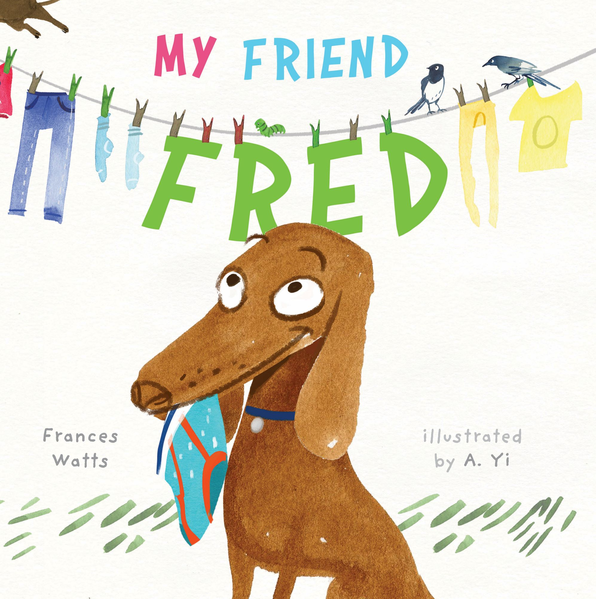 My Friend Fred, book cover