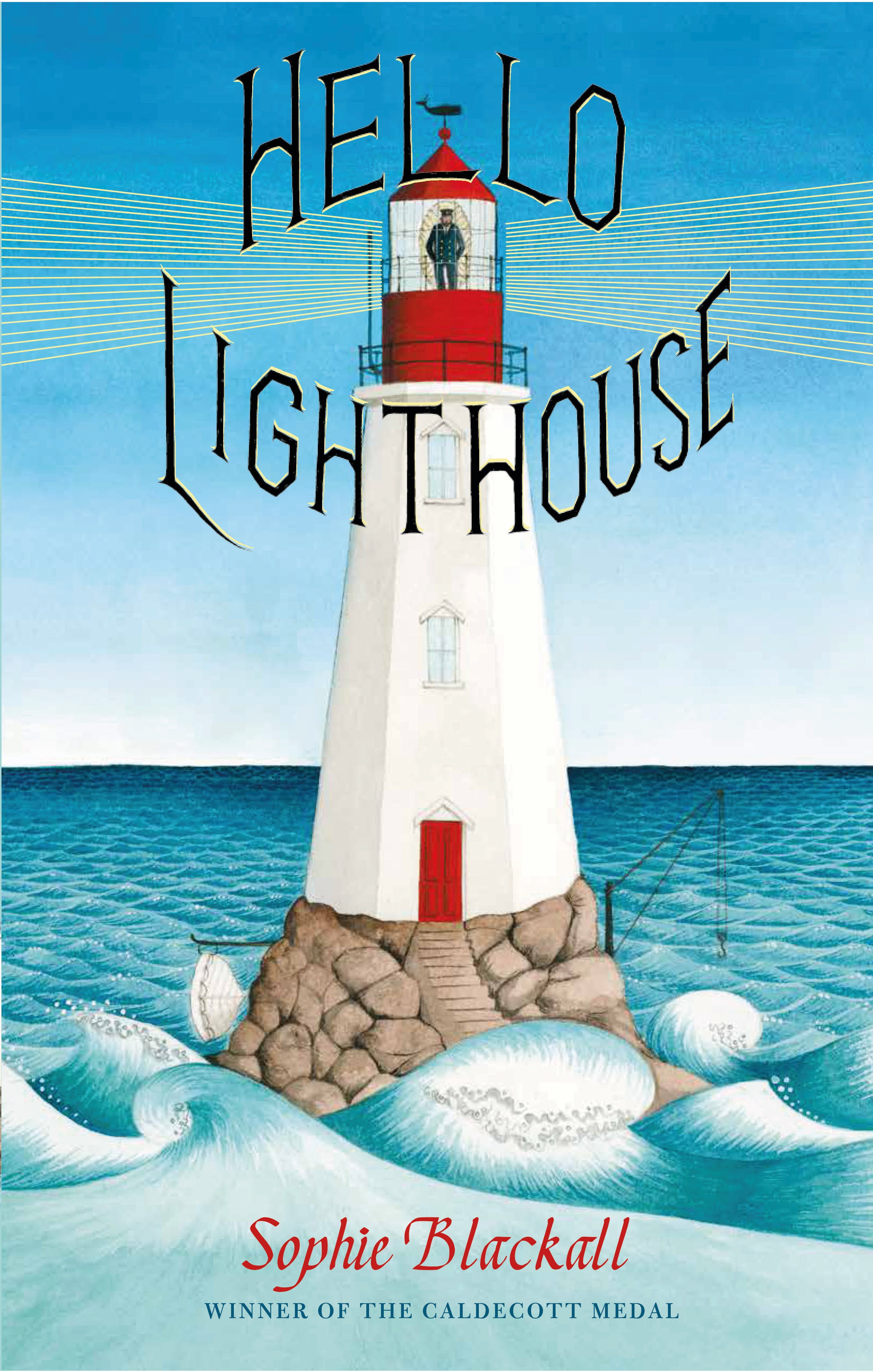 Hello Lighthouse, book cover