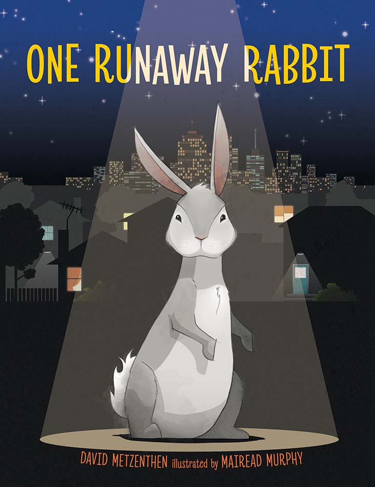One Runaway Rabbit, book cover