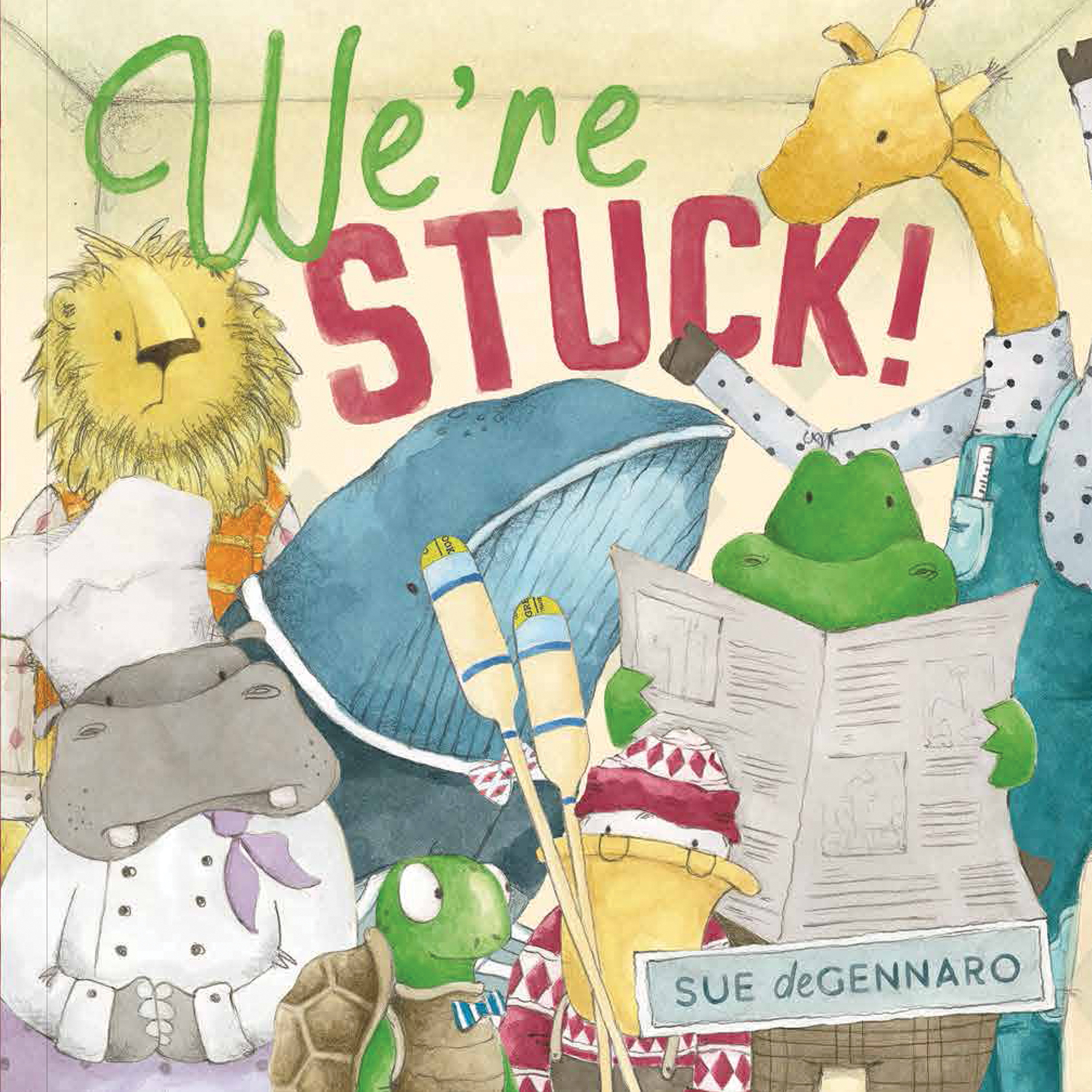 We're Stuck! book cover