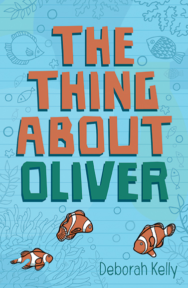 The Thing about Oliver, book cover