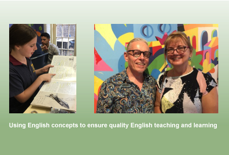 Using English concepts to ensure quality English teaching and learning