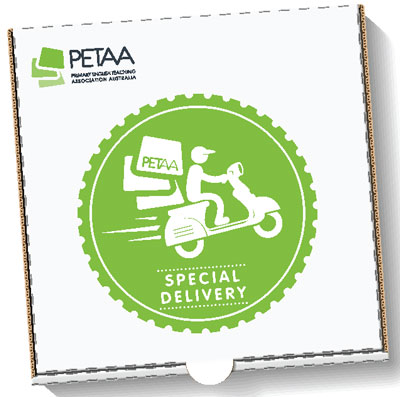 PETAA Special Delivery box