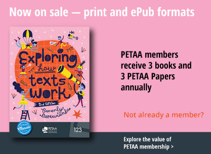 Cover feature for Exploring How Texts Work linked to membership