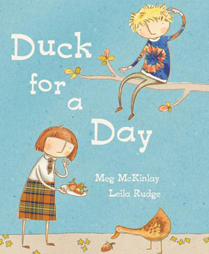 Duck for a Day Book cover